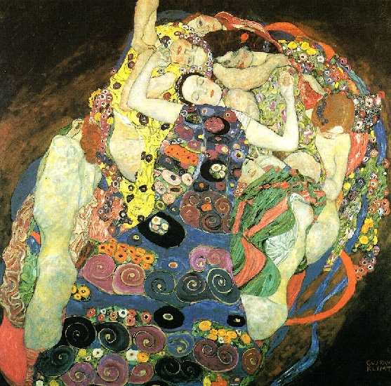 The Maiden by Gustav Klimt (1862-1918, Austria) | Reproductions Gustav Klimt | WahooArt.com