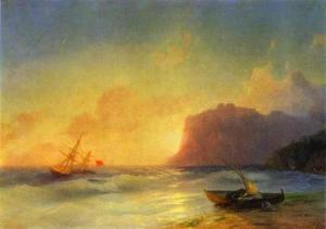 Ivan Aivazovsky - The Sea. Koktebel