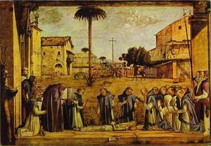 Vittore Carpaccio - Funeral of St. Jerome