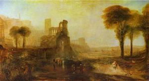 William Turner - Caligula-s Palace and Bridge