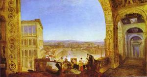 William Turner - Rome, from the Vatica