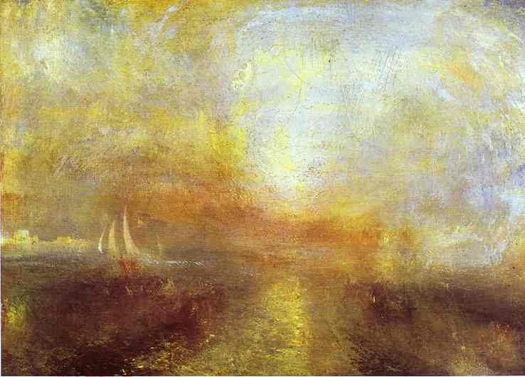 Order Paintings Reproductions | Yacht Approaching the Coast by William Turner (1775-1851, United Kingdom) | WahooArt.com