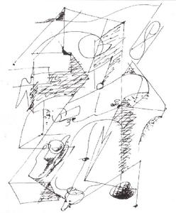 André Aimé René Masson - Automatic Drawing