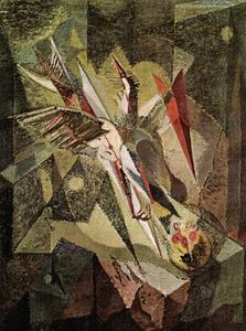 André Aimé René Masson - The bird pierced with arrows