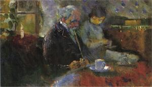 Edvard Munch - Taking Tea