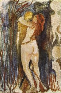 Edvard Munch - Death and the maiden
