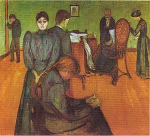 Edvard Munch - Death in the patient s room