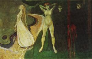 Edvard Munch - Woman at three stages