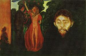 Edvard Munch - Jealousy 3