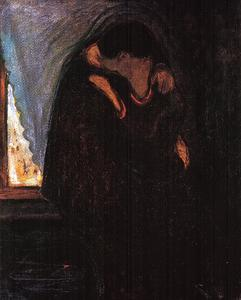 Edvard Munch - The Kiss 2