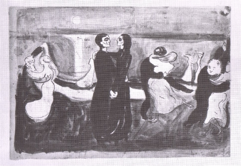 edvard munch the dance of life essay Excerpt from amy gonzalez' art assignment figures visible in the foreground of edvard munch's painting the dance of for a life past.