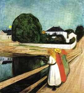 Edvard Munch - Girls on the pier