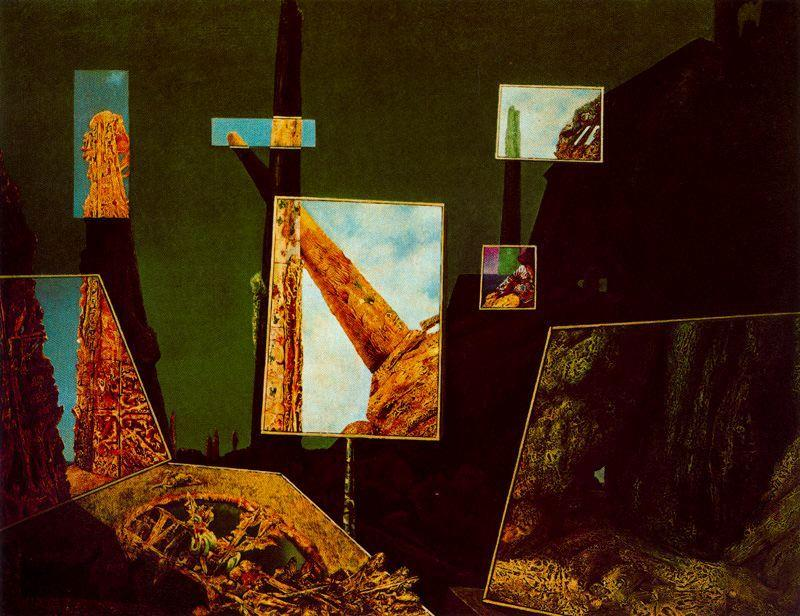 Day and Night, 1941 by Max Ernst (1891-1976, Germany) | WahooArt.com