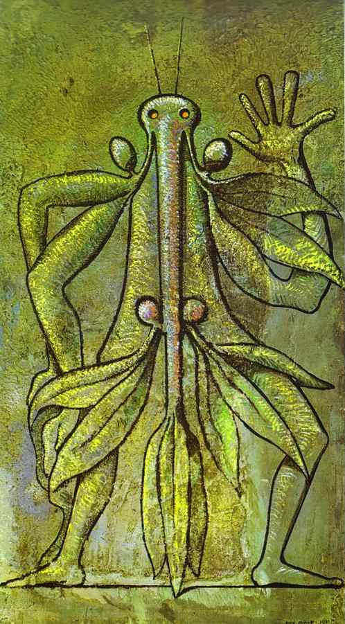 Human Form, 1931 by Max Ernst (1891-1976, Germany) | Art Reproduction | WahooArt.com