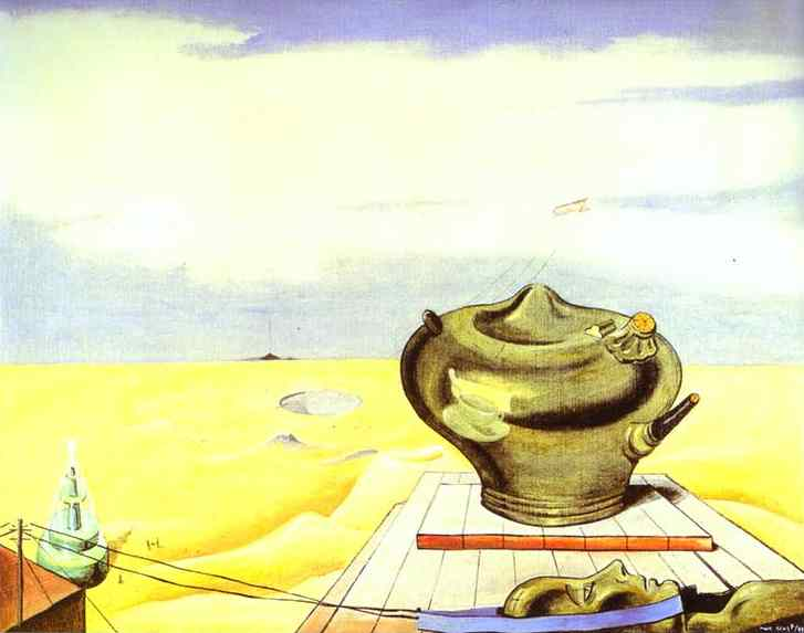 Seascape by Max Ernst (1891-1976, Germany) | WahooArt.com