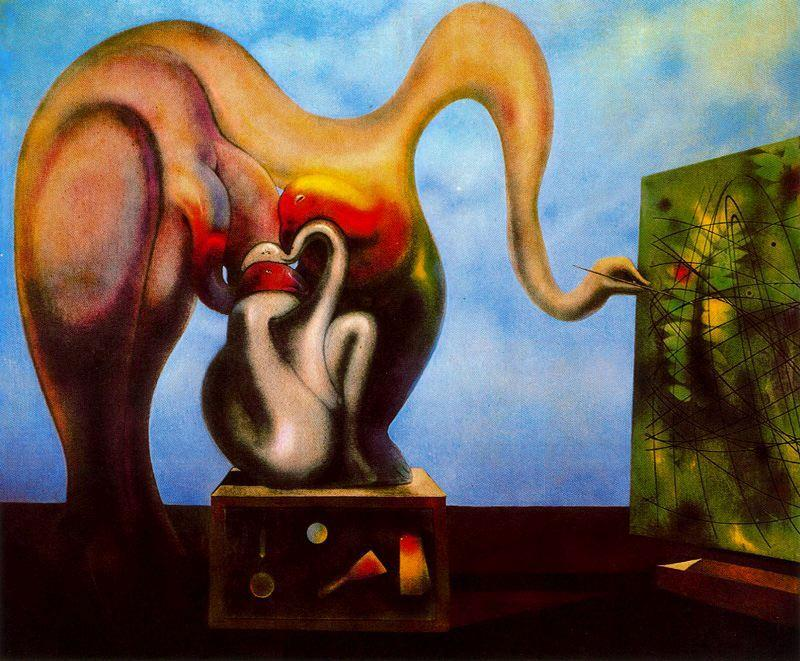 Surrealism and Painting, 1942 by Max Ernst (1891-1976, Germany) | WahooArt.com