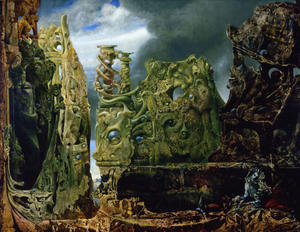Max Ernst - The Eye of Silence
