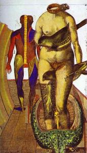 Max Ernst - The Word or Woman-Bird