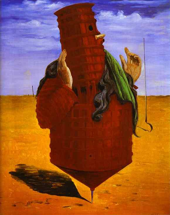 Ubu Imperator, Oil by Max Ernst (1891-1976, Germany)