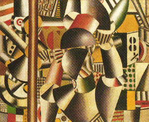 Fernand Leger - The acrobats in the circus