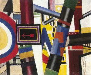 Fernand Leger - Sketch for The Railway Crossing