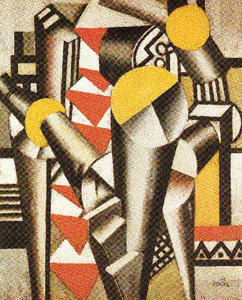 Fernand Leger - Study for the card game
