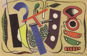 Fernand Leger - The bunch of grapes