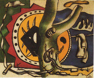 Fernand Leger - Green Tree