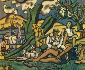 Fernand Leger - The part of campaign
