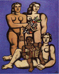 Fernand Leger - The Three Sisters