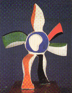 Fernand Leger - The flower that walks