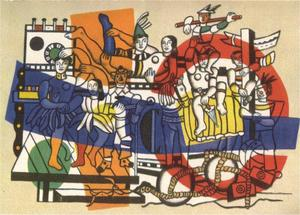 Fernand Leger - The Big Parade