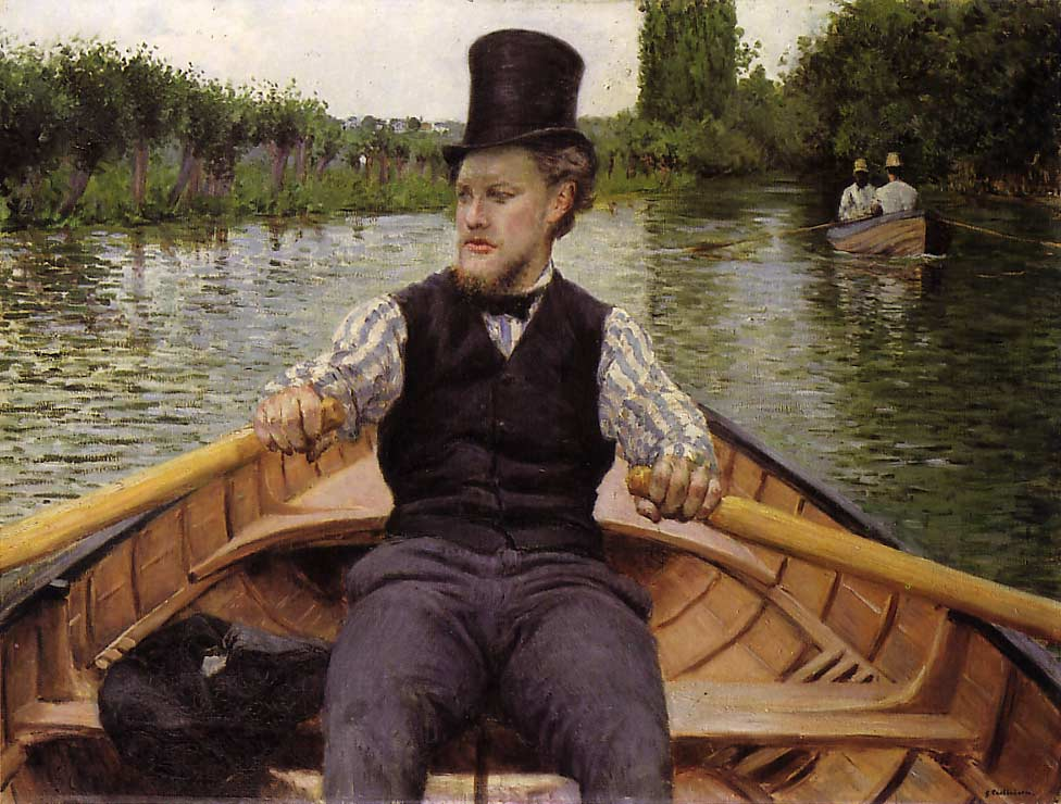 Boating Party by Gustave Caillebotte (1848-1894, France) | Oil Painting | WahooArt.com