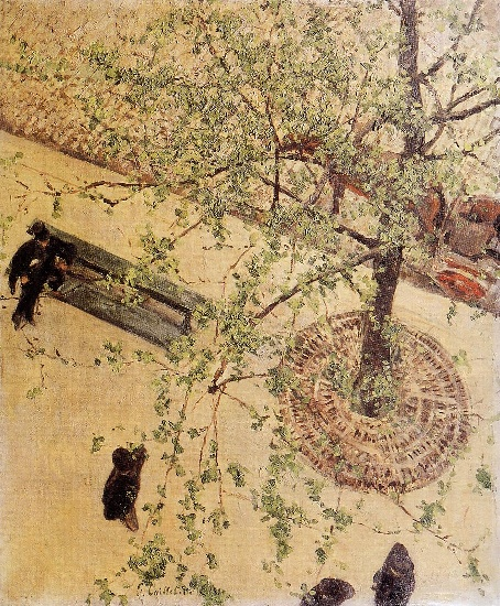 Boulevard Seen from Above by Gustave Caillebotte (1848-1894, France) | WahooArt.com