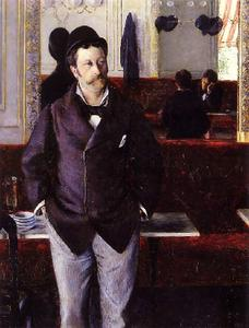 Gustave Caillebotte - In a Cafe