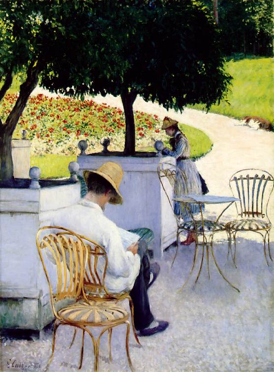 les orangers by Gustave Caillebotte (1848-1894, France) | Art Reproduction | WahooArt.com