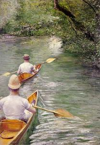 Gustave Caillebotte - Perissoires aka The Canoes