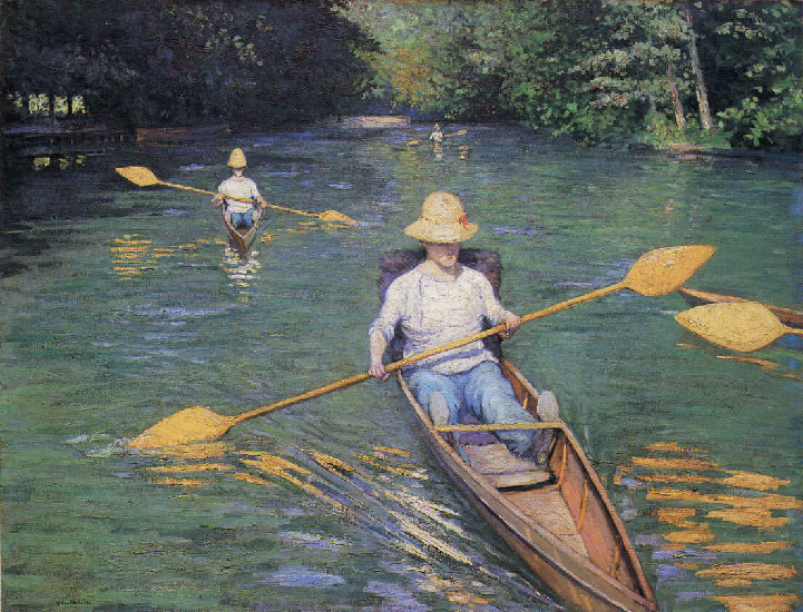 scolls by Gustave Caillebotte (1848-1894, France) | Painting Copy | WahooArt.com
