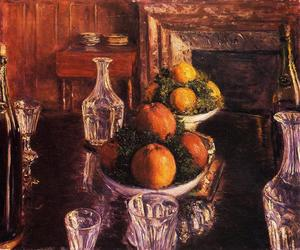 Buy Museum Art Reproductions | Still Life, 1879 by Gustave Caillebotte (1848-1894, France) | WahooArt.com