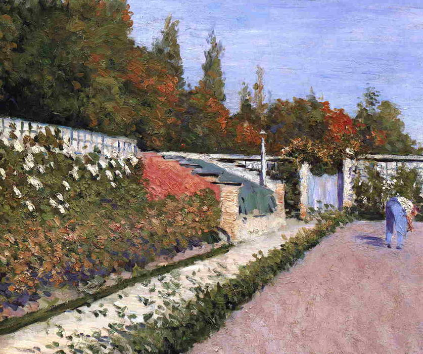 The Gardener, 1877 by Gustave Caillebotte (1848-1894, France) | Famous Paintings Reproductions | WahooArt.com
