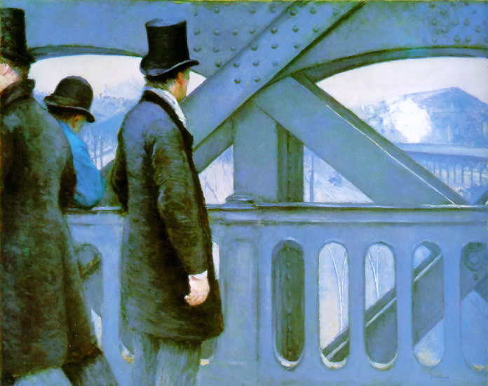 The Pont de Europe by Gustave Caillebotte (1848-1894, France) | Art Reproduction | WahooArt.com