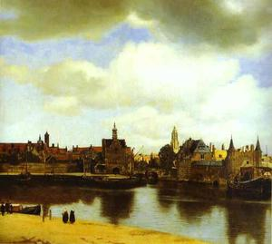 Jan Vermeer - View of Delfi