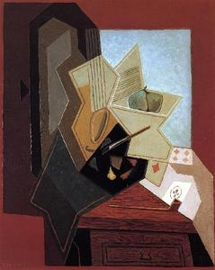 Juan Gris - The Painter-s Window