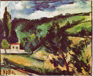 Maurice De Vlaminck - The valley of the Oise