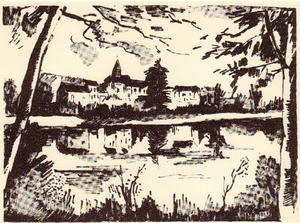 Maurice De Vlaminck - On the banks of the Oise