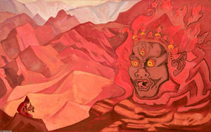 Nicholas Roerich - Dorje the Daring One
