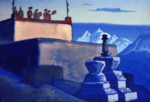 Nicholas Roerich - Evening Call
