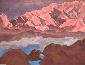 Nicholas Roerich - He who hastens