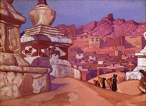 Nicholas Roerich - Horse of Happyness