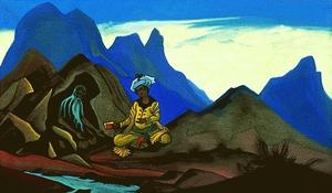 Nicholas Roerich - Iskander and the Hermit
